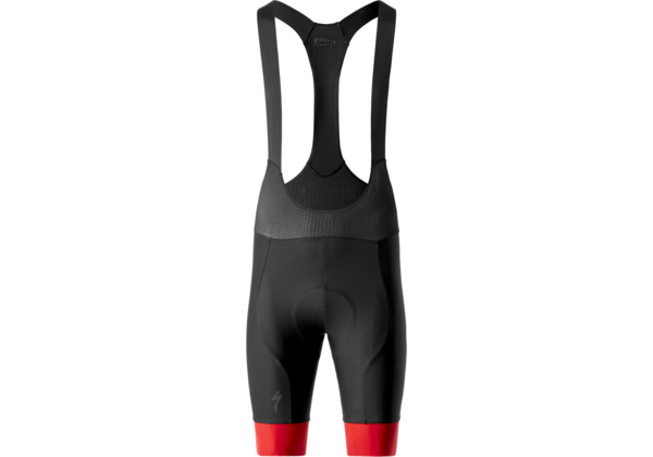 Specialized SL R Bib Shorts Color: Black/Red