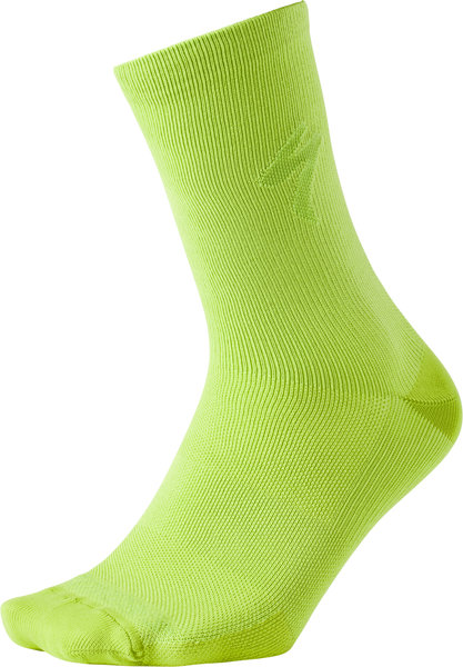 Specialized Soft Air Reflective Tall Sock HyperViz Color: HyperViz