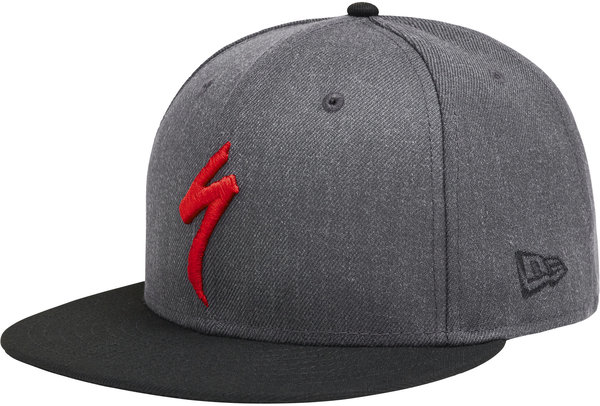 Specialized Specialized New Era 9Fifty Snapback Hat Color: Heather Gray/Black/Red