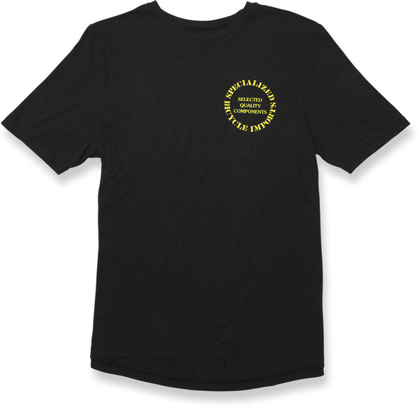 Specialized Standard Tee Original Color: Black/Yellow