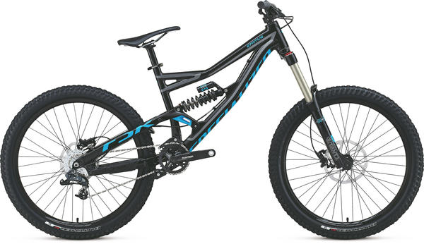 Specialized Status I Color: Gloss Black/Charcoal/Cyan