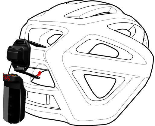 Specialized Stix Helmet Strap Mount Color: Black