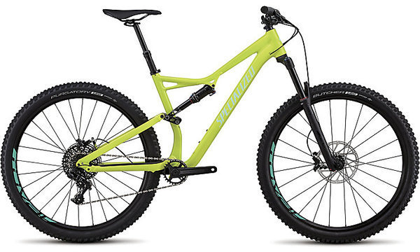 Specialized Stumpjumper Comp Alloy 29/6Fattie Color: Gloss Hyper/Mint Clean