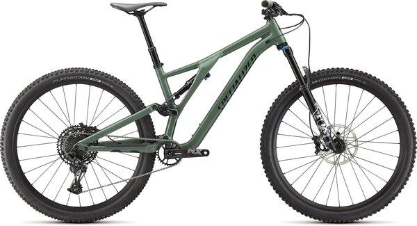 Specialized Stumpjumper Comp Alloy Color: Gloss Sage Green/Forest Green