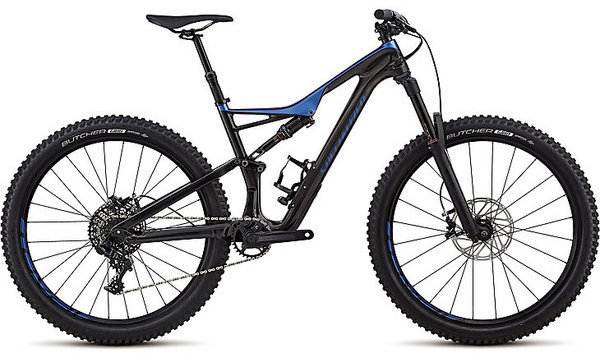 Specialized Stumpjumper Comp Carbon 27.5 Color: Gloss Carbon/Chameleon