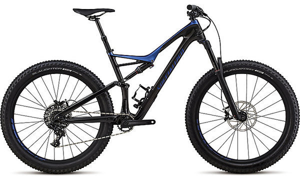 Specialized Stumpjumper Comp Carbon 6Fattie Color: Gloss Carbon/Chameleon