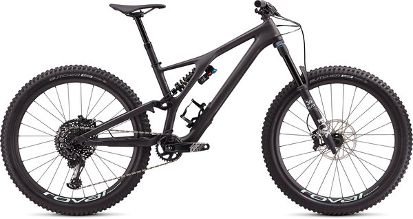 Specialized Stumpjumper EVO Pro 27.5 Color: Carbon/Mint