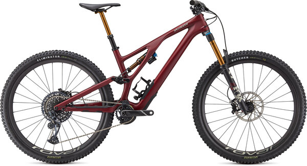 Specialized Stumpjumper EVO Pro Color: Satin Maroon/White Mountains