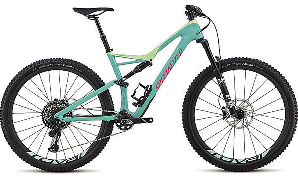 Specialized Stumpjumper Expert 29/6Fattie Color: Heritage Gloss Acid Mint/Acid Kiwi/Acid Pink