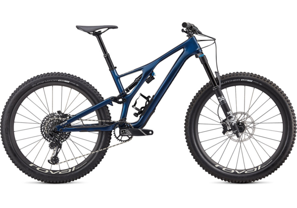 Specialized Stumpjumper Expert Carbon 27.5 Color: Gloss Navy/White Mountains
