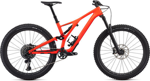 Specialized Men's Stumpjumper Expert 27.5 Color: Rocket Red/Black