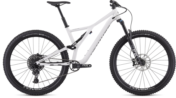 Specialized Men's Stumpjumper Comp Alloy 29 – 12-Speed Color: Gloss White / Tarmac Black