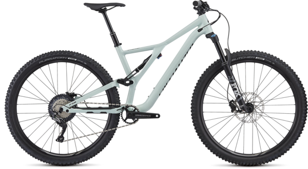 Specialized Men's Stumpjumper ST Comp Alloy 29 Color: Gloss White Sage / Black