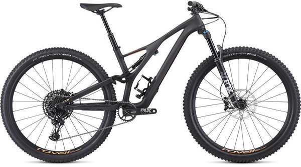 Specialized Women's Stumpjumper ST Comp Carbon 29 – 12-Speed Color: Satin Carbon / Acid Lava