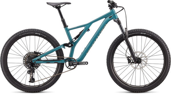 Specialized Stumpjumper ST 27.5 Color: Gloss Dusty Turquoise/White