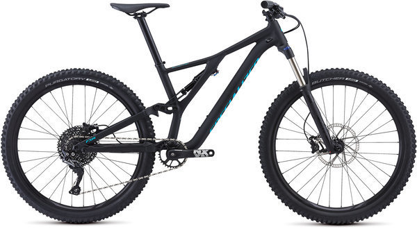 Specialized Men's Stumpjumper ST Alloy 27.5 Color: Black/Nice Blue