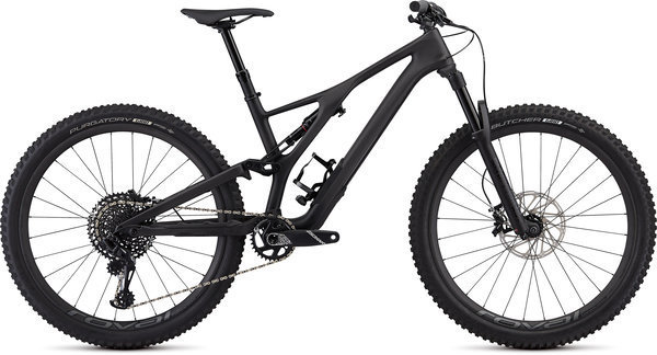 Specialized Men's Stumpjumper ST Expert 27.5 Color: Carbon/Black