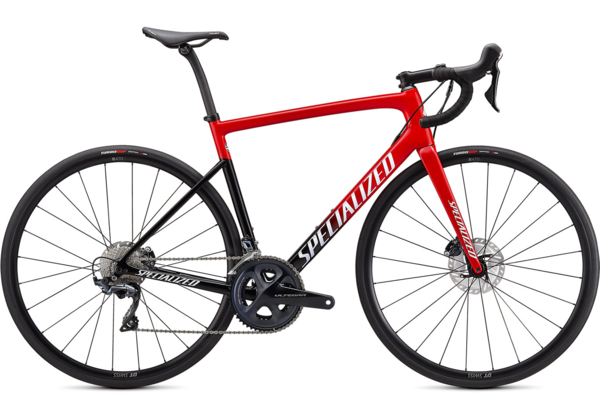 Specialized Tarmac SL6 Comp Color: Red Tint Fade/White with Gold Pearl