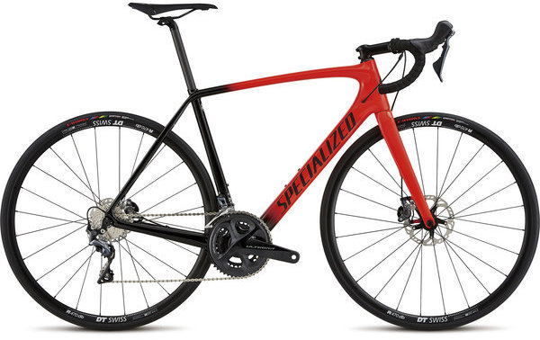 Specialized Men's Tarmac Comp Disc Color: Rocket Red/Tarmac Black/Satin