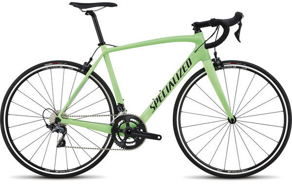 Specialized Men's Tarmac Elite Color: Acid Kiwi/Satin Black/Clean