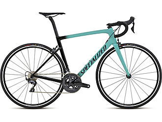 Specialized Men's Tarmac SL6 Expert Color: Acid Mint/Tarmac Black Clean