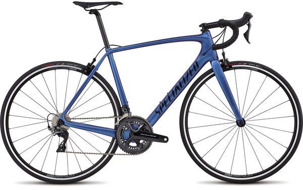 Specialized Men's Tarmac SL5 Expert DA Color: Chameleon/Tarmac Black Clean