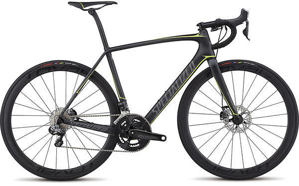 Specialized Tarmac Pro Disc Ultegra UDi2 Color: Satin Carbon/Charcoal/Hyper