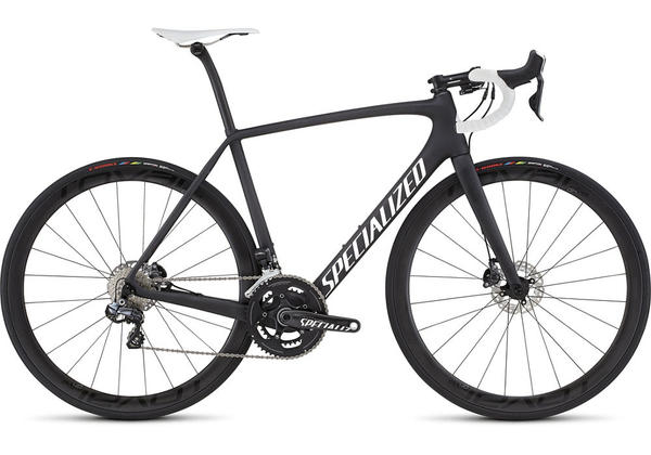 Specialized Tarmac Pro Disc Race UDi2 Color: Satin Carbon/White/Clean