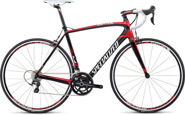 Specialized Tarmac SL4 Comp Ultegra Color: Carbon/Red/White