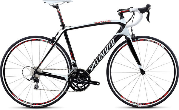 Specialized Tarmac SL4 Elite 105 Color: White/Carbon/Red