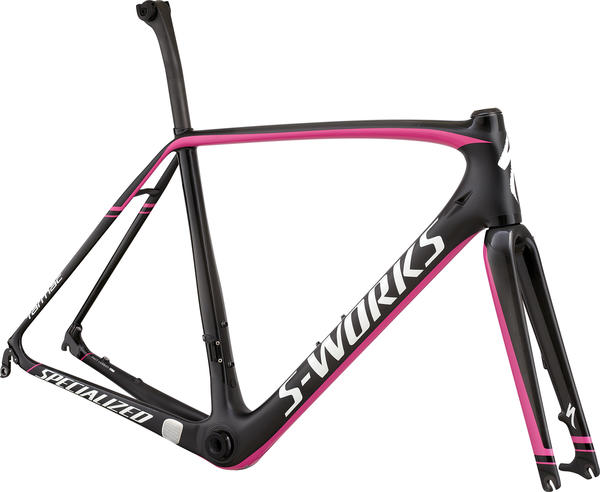 Specialized S-Works Tarmac Disc Module Color: Gloss Carbon/Black Magenta