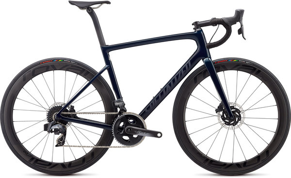 Specialized Tarmac SL6 Pro Disc eTap Color: Gloss Teal Tint/Black Reflective/Clean