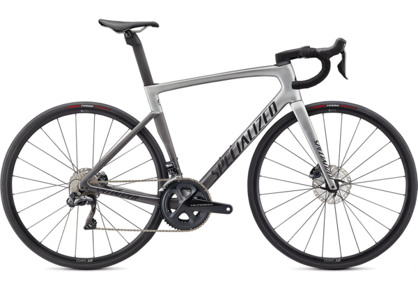 Specialized Tarmac SL7 Expert Ultegra Di2 Color: Light Silver/Smoke Fade/Black