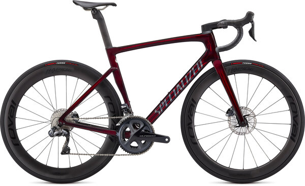 Specialized Tarmac SL7 Pro Ultegra Di2 Color: Red Tint/Carbon
