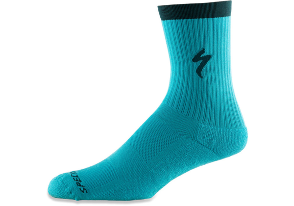 Specialized Techno MTB Tall Sock Color: Aqua
