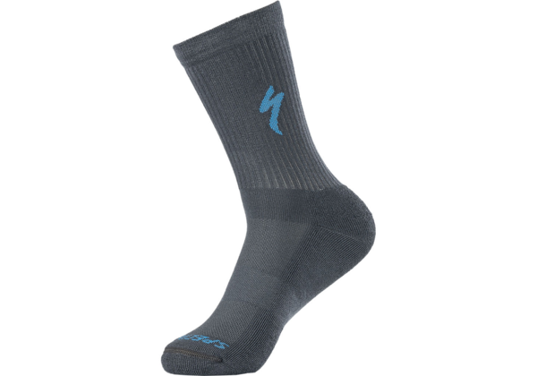 Specialized Techno MTB Tall Sock Color: Cast Battleship