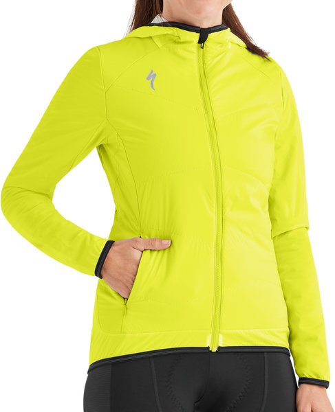 Specialized Therminal Alpha Jacket Color: Hyper Green