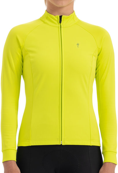 Specialized Therminal Wind Jersey LS HyperViz Color: HyperViz