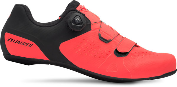 Specialized Torch 2.0 Road Shoes Color: Acid Lava/Black