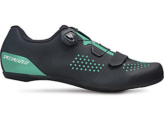 Specialized Women's Torch 2.0 Road Shoes Color: Black/Acid Mint