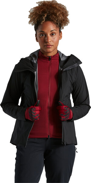 Specialized Trail Series Rain Jacket Color: Black