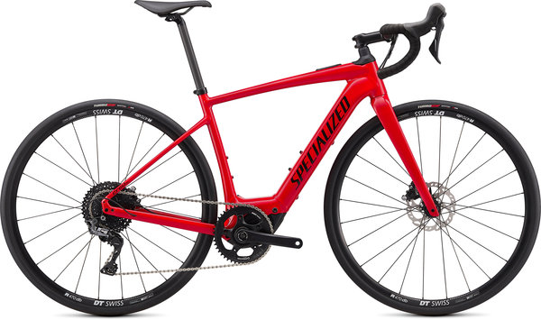 Specialized Turbo Creo SL E5 Comp Color: Flo Red/White/Black