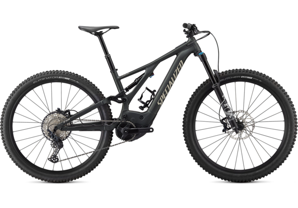 Specialized Turbo Levo Comp Color: Oak Green Metallic/Black/Gloss White Mountains