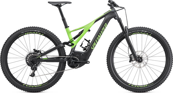 Specialized Turbo Men's Turbo Levo Expert Color: Carbon/Monster Green