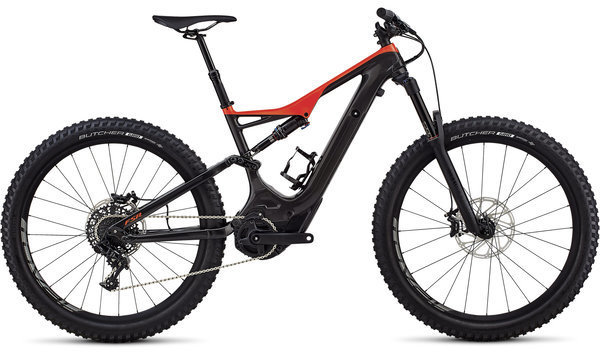 Specialized Turbo Levo Men's FSR Comp Carbon 6Fattie/29 Color: Gloss Carbon/Rocket Red