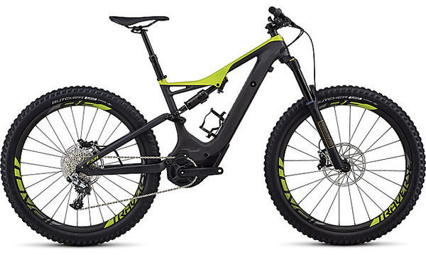 Specialized Turbo Levo Men's S-Works FSR 6Fattie/29 Color: Carbon/Hyper