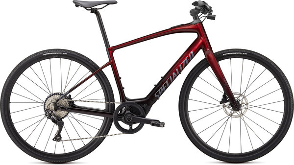 Specialized Turbo Vado SL 4.0 (12/19) Color: Crimson Red Tint/Black Reflective