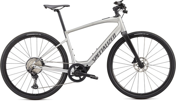 Specialized Turbo Vado SL 5.0 Color: Brushed Aluminum/Black Reflective