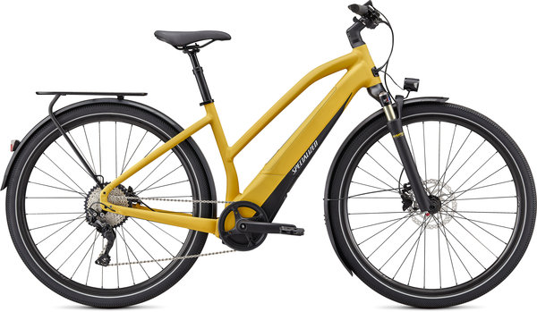 Specialized Turbo Vado 4.0 Step-Through LTD Color: Brassy Yellow/Black/Liquid