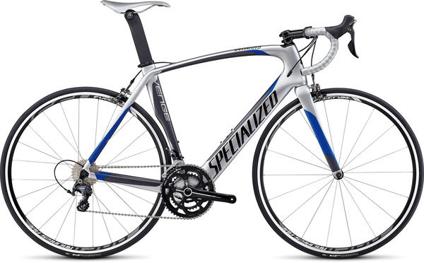 Specialized Venge Comp Ultegra Color: Metallic Silver/Charcoal/Blue